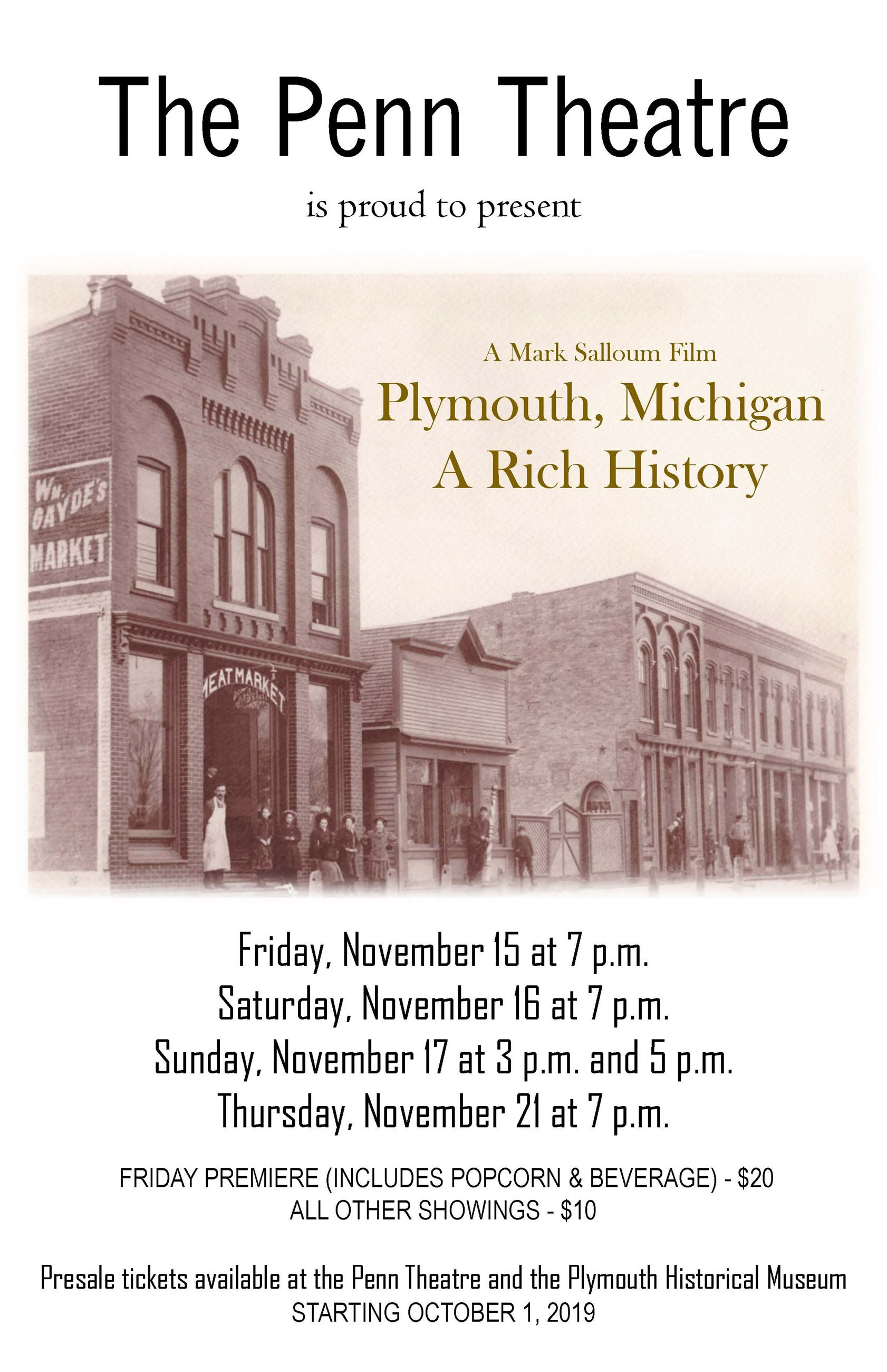 History of Plymouth Movie