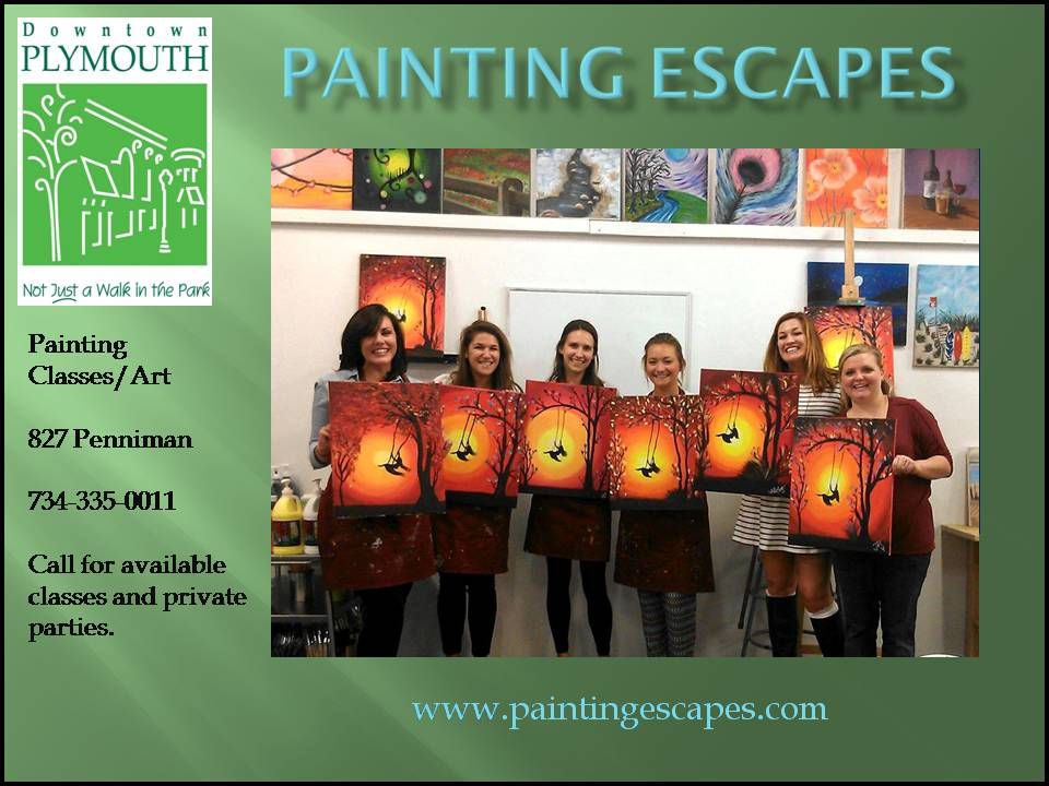 Painting Escapes